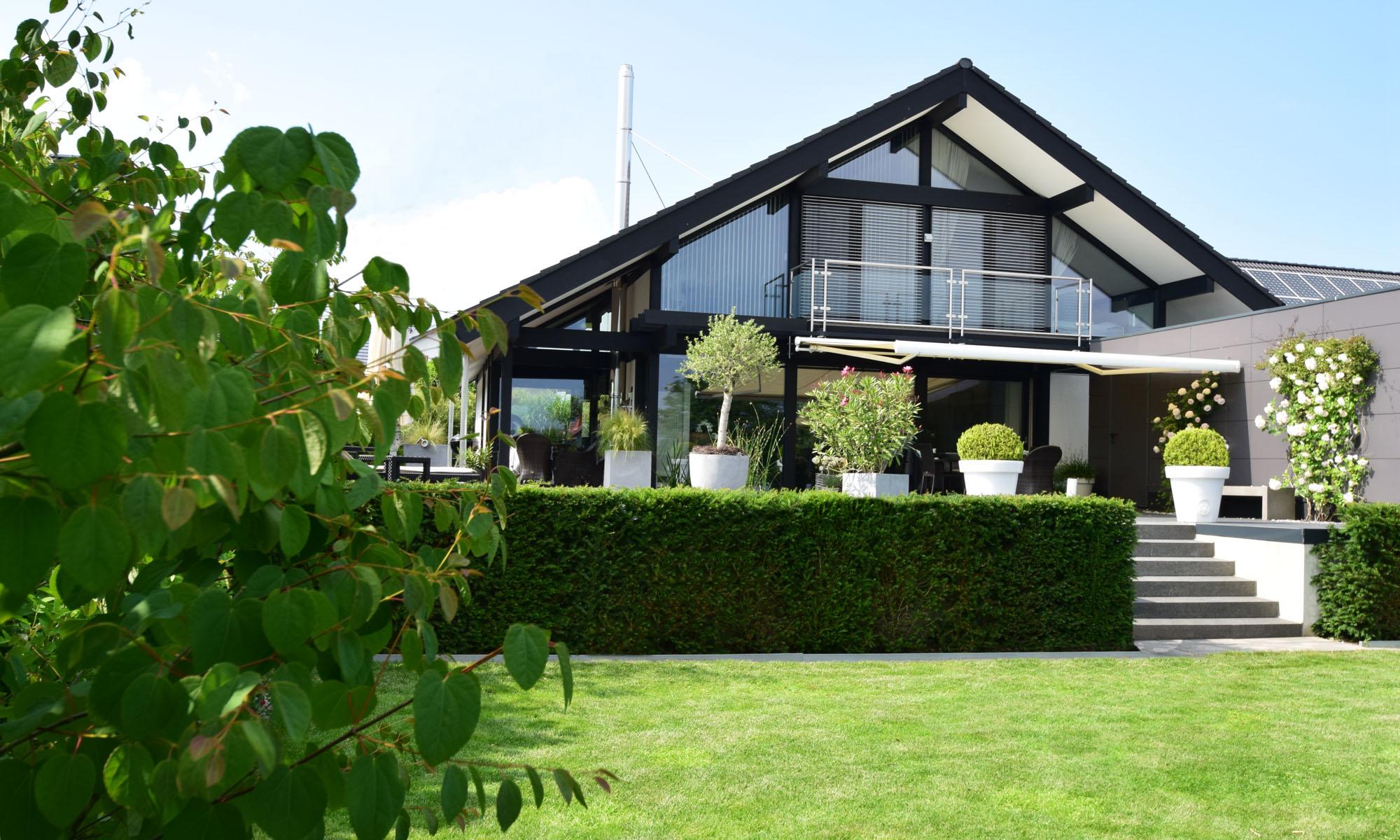 Da Vinci Haus Gartenansicht